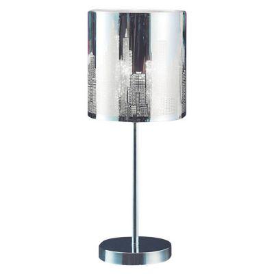 Lámpara de Mesa Clover Níquel