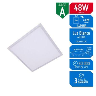 Panel LED 60x60 48w Luz Blanca