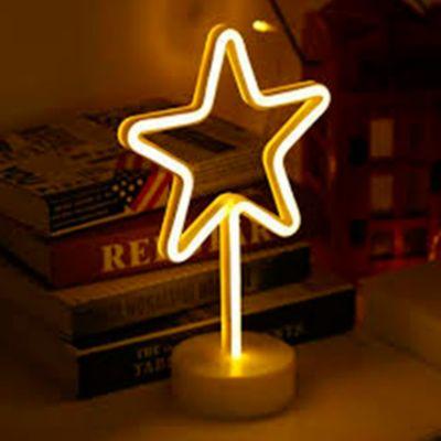 Luminaria Decorativa Neón Estrella