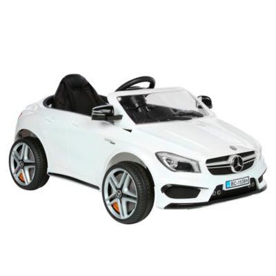 Carro a Batería Mercedes Blanco