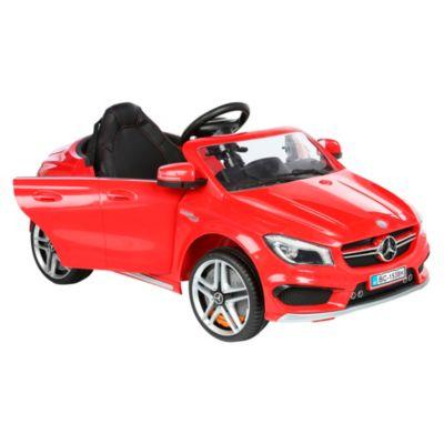 Carro a Batería Mercedes Rojo