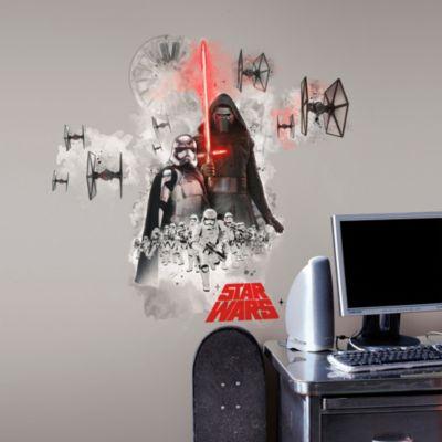 Vinil Decorativo Star Wars Despertar Fuerza Villanos