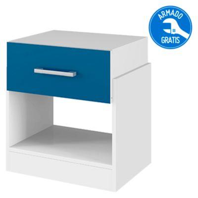 Velador Capri Blanco/Azul