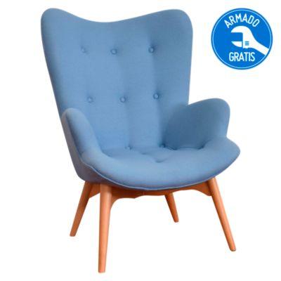 Silla A54 Cashmere Azul
