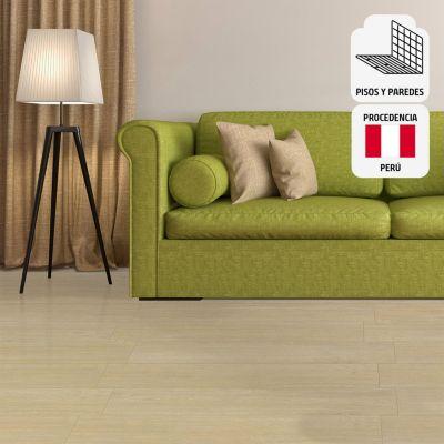 Cerámica Parketon Premium Sand Maderado 20x61cm para piso o pared