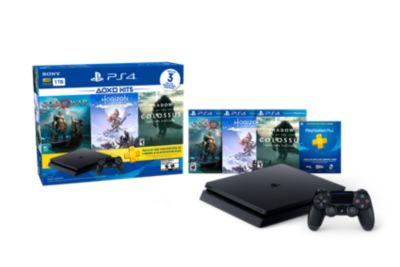 Combo Hits 4: Consola PS4 Slim 1TB + 3 Juegos