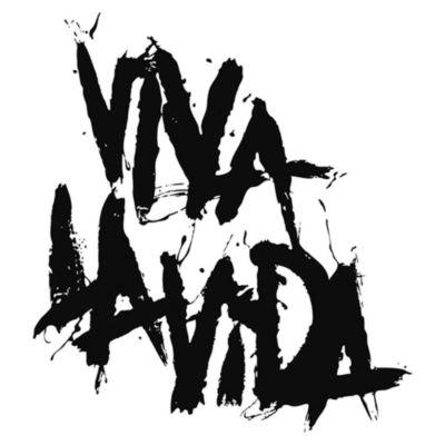 Vinilo Coldplay Viva La Vida Negro Medida P