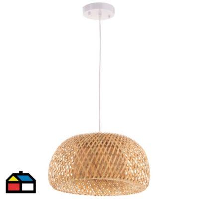 Lámpara colgante Nature 1 luz E27