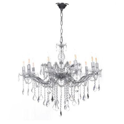 Lámpara Colgante Cristal HQ 10 Luces E14