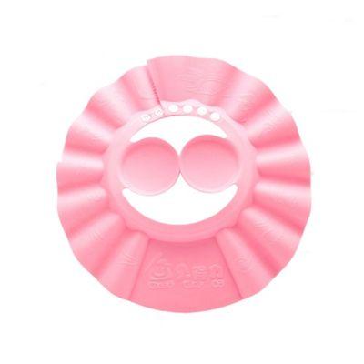 Gorra de Baño con Orejeras Rosado