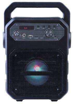 Parlante Bluetooth/FM/USB con Micrófono 250K