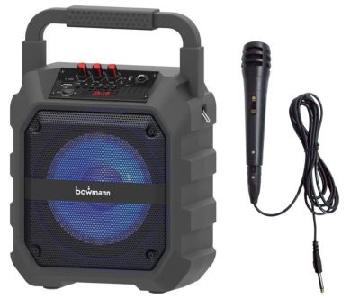 Parlante Bluetooth/FM/USB con Micrófono 360K