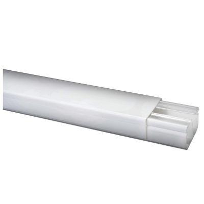 Canaleta 40 x 25 mm PVC Sin Adhesivo Blanco