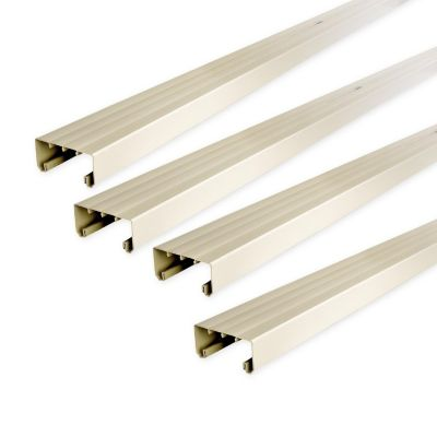 Canaleta 100 x 45 mm PVC Sin Adhesivo Blanco