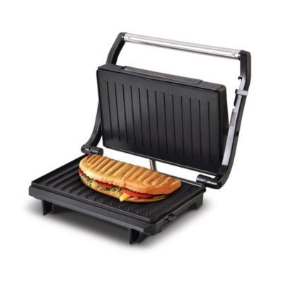 Mini Grill Toast&Co Negro Antiadherente 750W