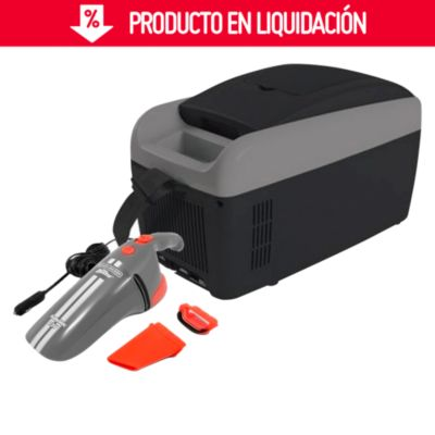 Nevera Termoeléctrica 12V + Aspiradora Portátil 12V