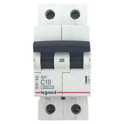 Interruptor Termomagnético 2X10A Legrand