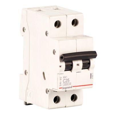 Interruptor Termomagnético 2x25A Legrand