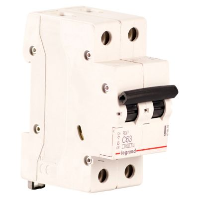 Interruptor Termomagnético 2X63A Legrand