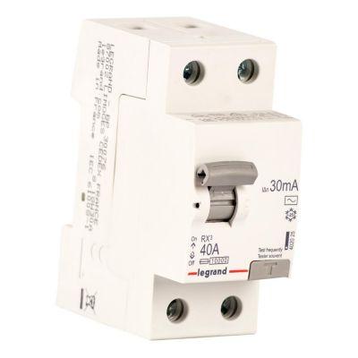 Interruptor Diferencial 2x40A Legrand