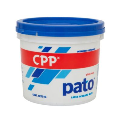 Látex Pato Mate Deep 4L