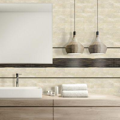 Listelo Ribbing 45x10cm Dorado