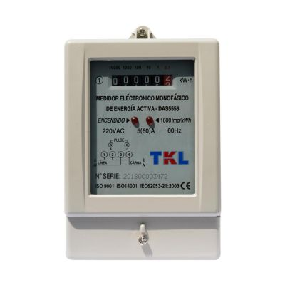 Medidor Electrónico Monofásico 60A