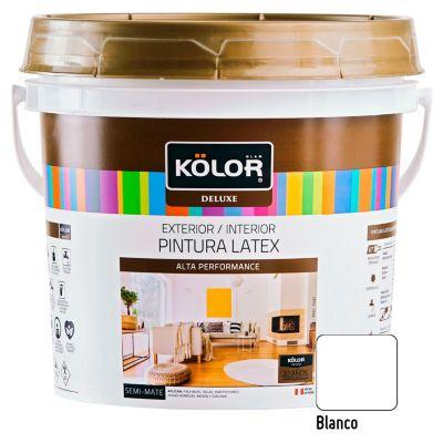 Pintura Látex Deluxe 1L Blanco