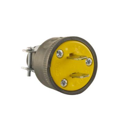 Enchufe c/abrazadera metal