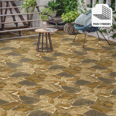 Gres Porcelanico Arusha Natural Beige Rústico 60x60cm para piso o pared