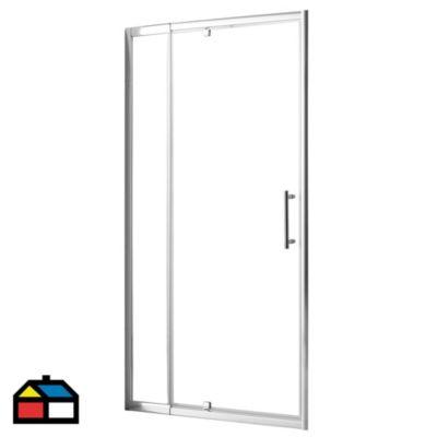 Puerta de Ducha Ajustable 6mm 80-100x185cm