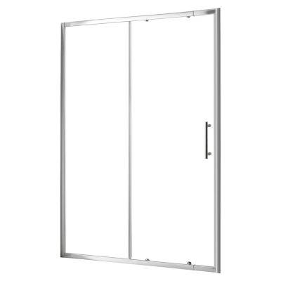 Puerta de Ducha Ajustable 6mm 120-135x185cm