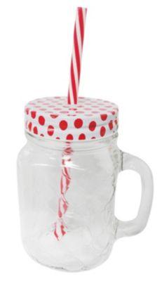 Jarra para Bebida 450ml Rojo