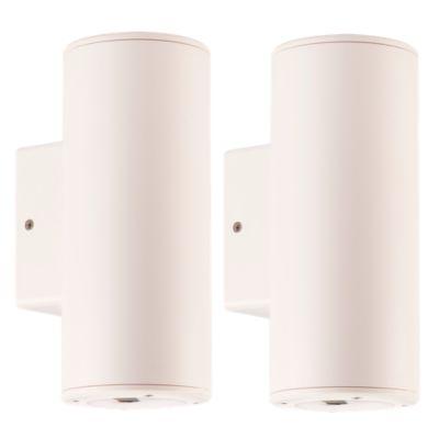 Combo Aplique Doble Cilindro Blanco 11W x 2 unidades