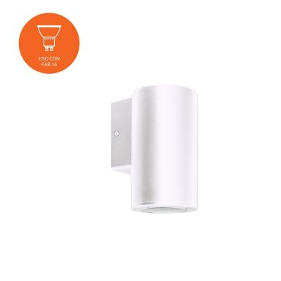 Aplique Cilindro Blanco 11W