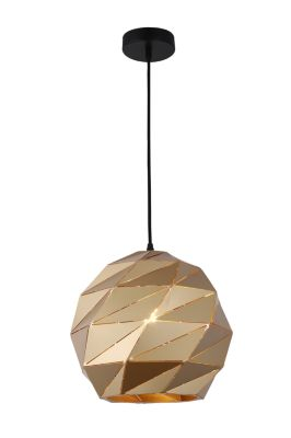 Lámpara Colgante Corrugado 1 Luz E27