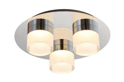 Lámpara de Techo Acrilico 3 Luces LED 15W