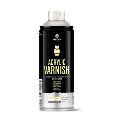 Spray Wáter Based Barniz Mate 300ml