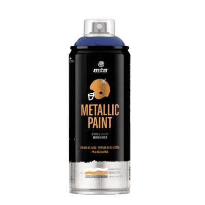 Spray Pro Metálico Azul Oscuro 385ml