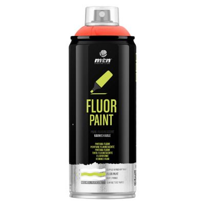Spray Pro Rojo Fluorescente 385ml