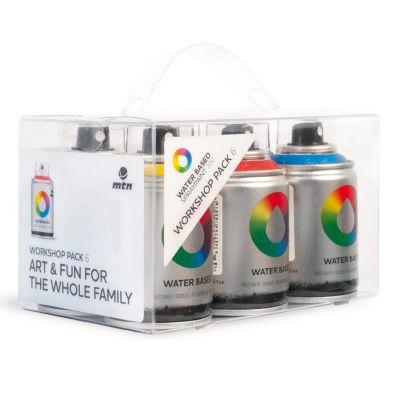 Kit Spray Water Based x 6 Unidades