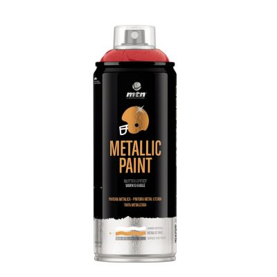 Spray Pro Metálico Rojo 385ml