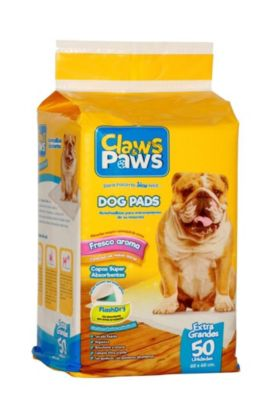 Pañal Claws & Paws x 50 pads