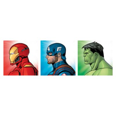 Set x3 Canvas Avengers 25x75cm