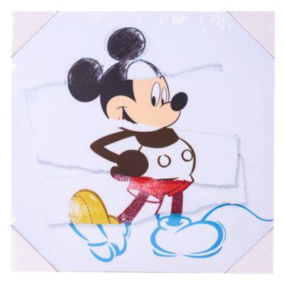 Cuadro Decorativo Mickey Vintage 40x40cm