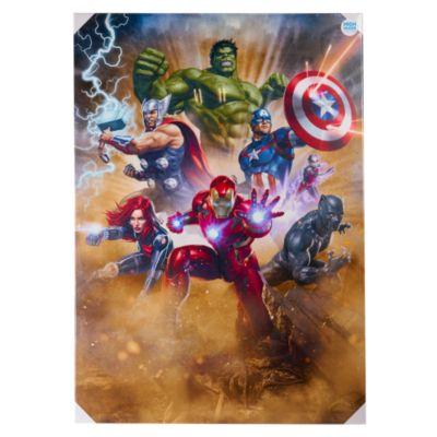 Cuadro Decorativo Team Avengers 85x120cm
