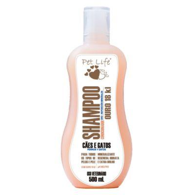 Shampoo Oro con Keratina