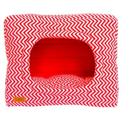 Cama Cubo 2 en 1 Talla S Rojo