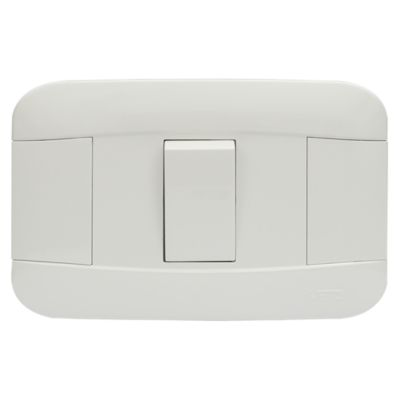 Interruptor Simple 10A Blanco