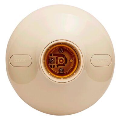 Plafón Socket E27 Beige